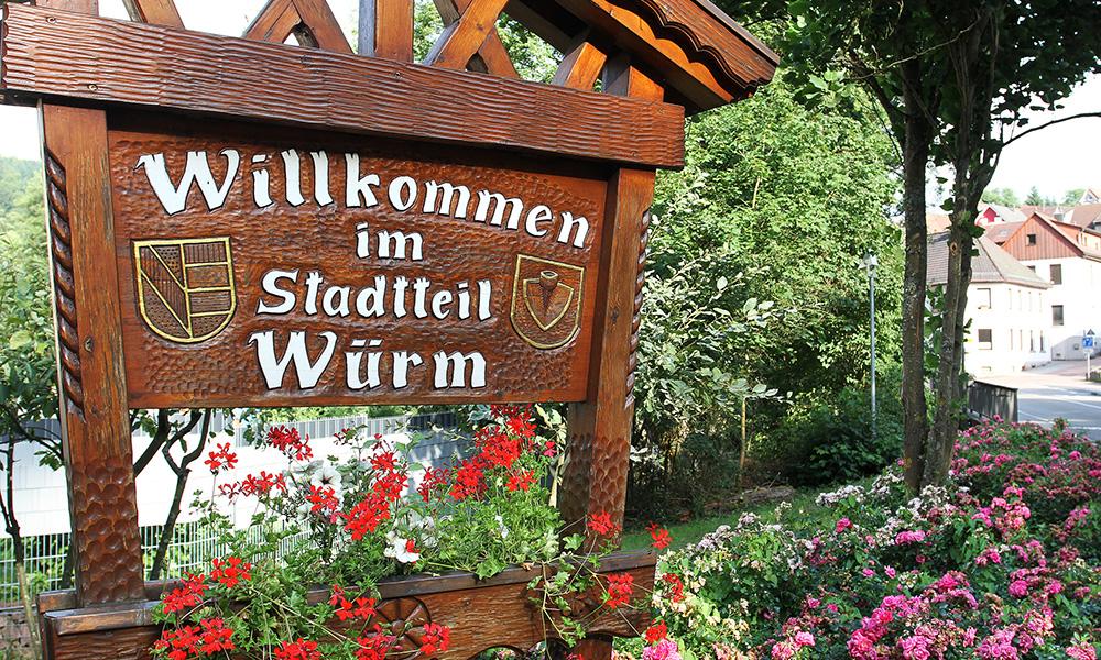 Reportage Würm-Rad-Weg - Pforzheimer Stadtteil Würm - Copyright Hans-Jörg Ernst