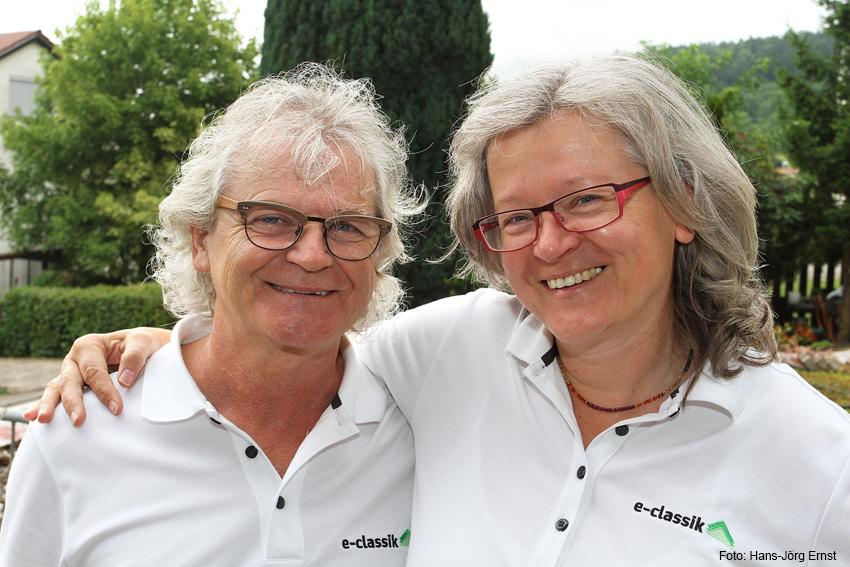 VORMACHER Wolfgang und Aloisia Streicher aus Weil der Stadt-Merklingen (D, BW, Kreis Böblingen) verleihen Elektro-Mopeds und -Roller.