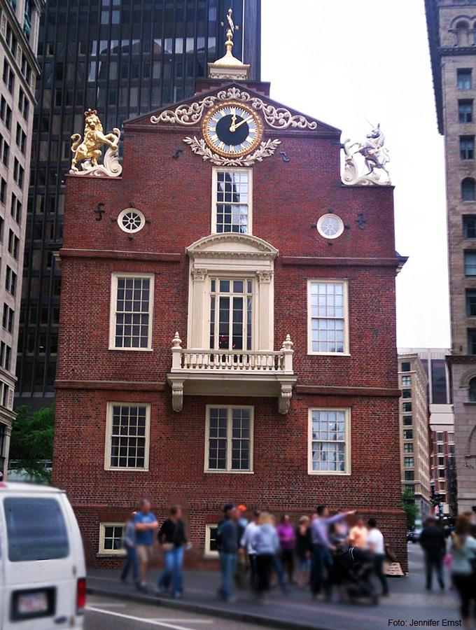Boston historische Gebäude - hochblau.com - Copyright Jennifer Ernst