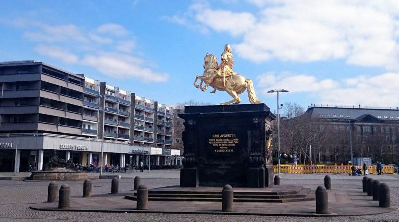 Dresden - Goldener Reiter - Foto Jennifer Ernst