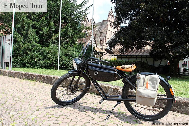E-Moped-Tour: Mit dem Stromerle unterwegs
