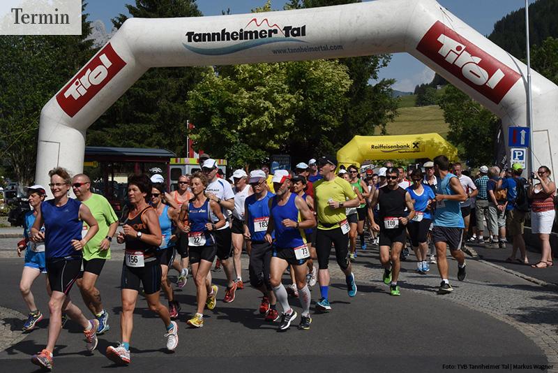 Seen-Lauf im Tannheimer Tal (A, Tirol) am 16. Mai 2020