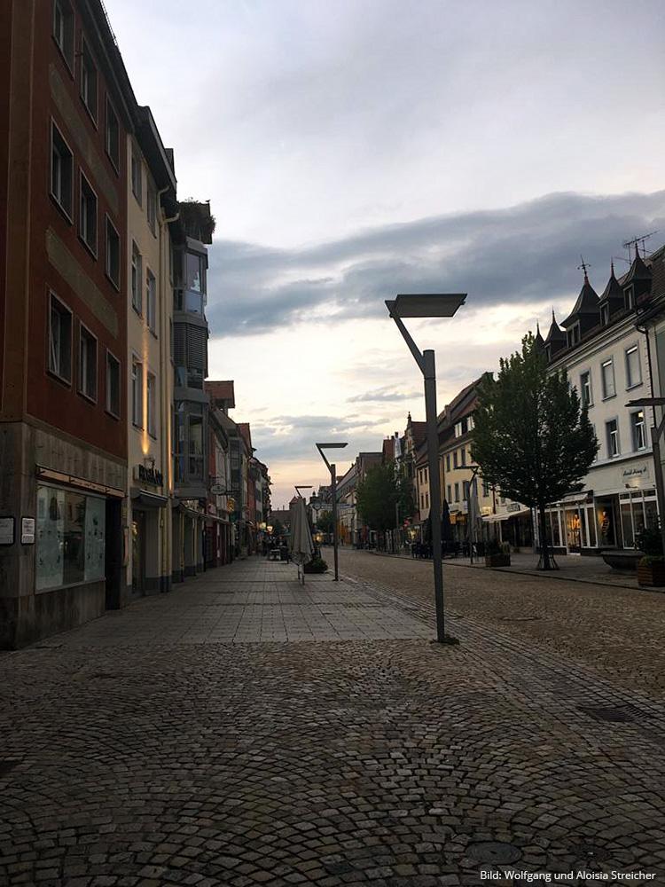 LADEN-REICH Einkaufsmeile in Villingen. Die Innenstadt ist weitläufig. | Foto: Wolfgang und Aloisia Streicher