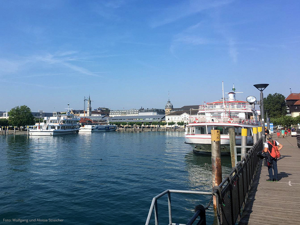Hafen in Konstanz | Foto: Wolfgang und Aloisia Streicher