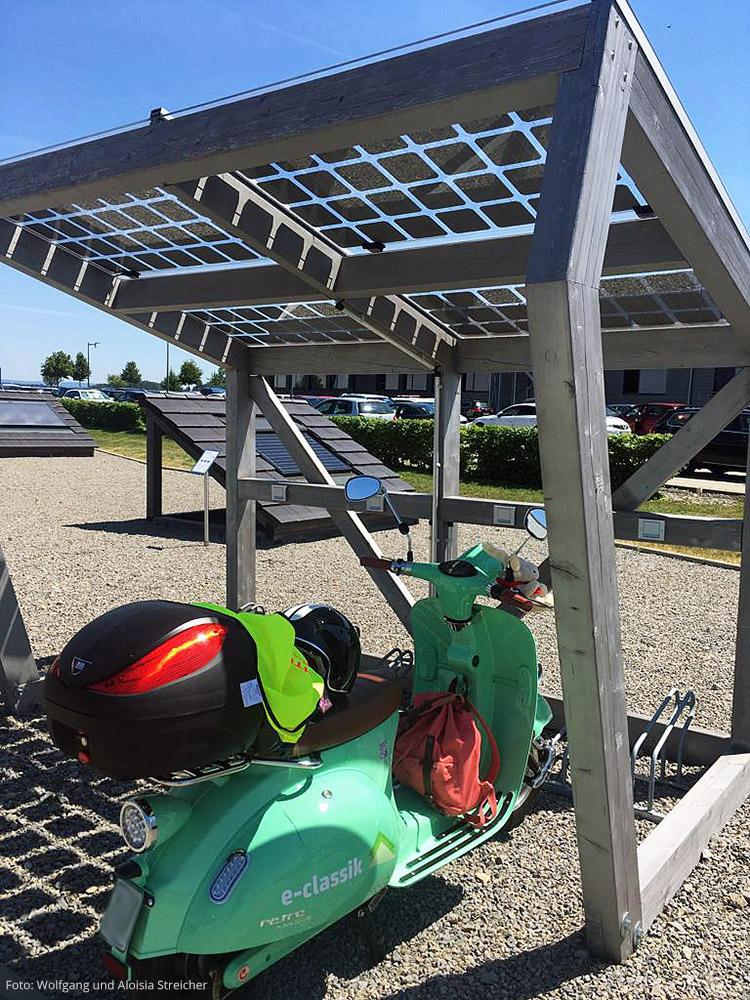 Laden mit Solarstrom in Binsdorf | Foto: Wolfgang und Aloisia Streicher