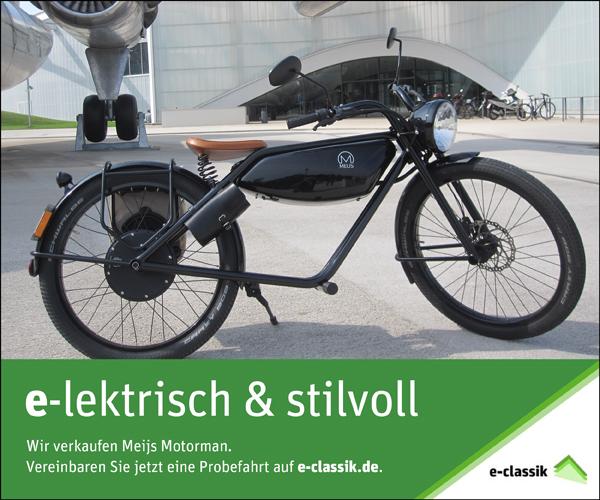 ANZEIGE Meijs Motorman - e-classik Wolfgang Streicher 71263 Weil der Stadt - www.e-classik.de