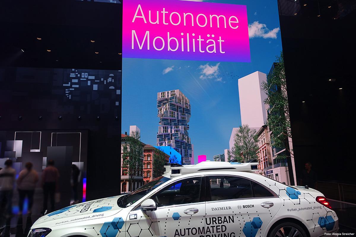 E-Mobility Nachbericht von der IAA 2019 - Autonomes Fahren | Foto: Aloisia Streicher