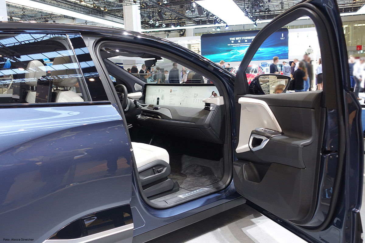 E-Mobility Nachbericht von der IAA 2019 - Byton mit großem Display | Foto: Aloisia Streicher