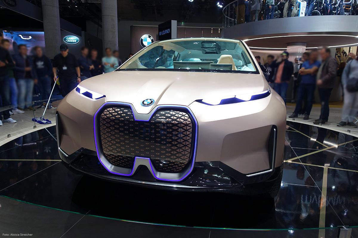 E-Mobility Nachbericht von der IAA 2019 - BMW i NEXT | Foto: Aloisia Streicher