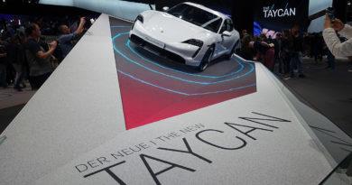 Präsentation des neuen Porsche Taycan auf der IAA 2019