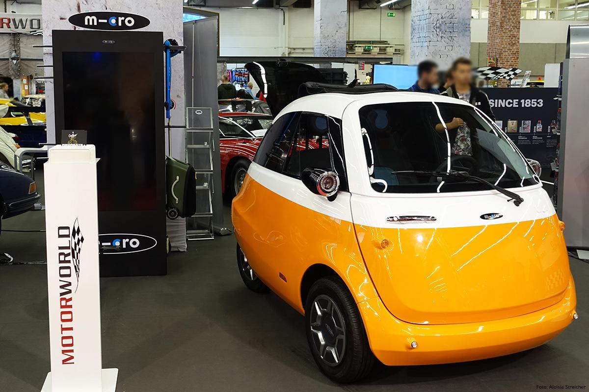 E-Mobility Nachbericht von der IAA 2019 - Microlino | Foto: Aloisia Streicher