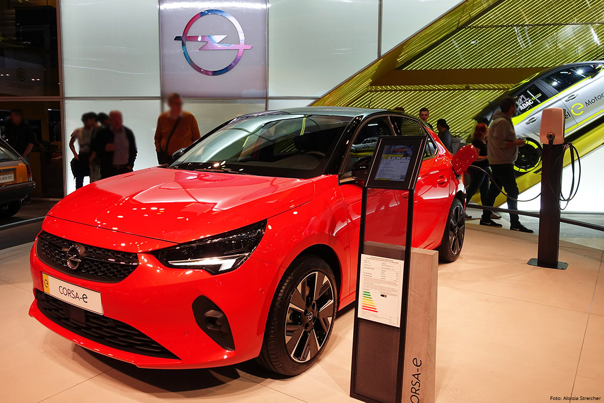 E-Mobility Nachbericht von der IAA 2019 - Opel Corsa e | Foto: Aloisia Streicher