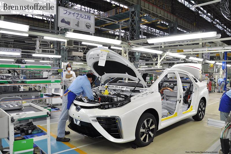 MIT BRENNSTOFFZELLE Toyota Mirai Produktion - Foto: PR/Toyota Deutschland GmbH