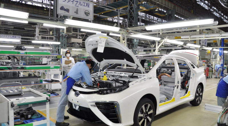 Toyota Mirai Produktion