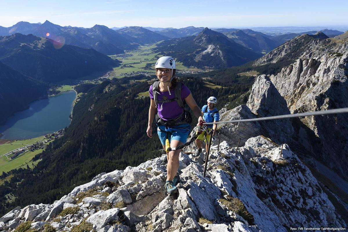 DER BERG RUFT Klettern im Tannheimer Tal | Foto: TVB Tannheimer Tal/Wolfgang Ehn