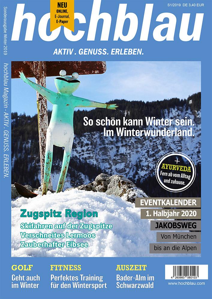 hochblau Magazin S1/2019 Cover © hochblau Verlag