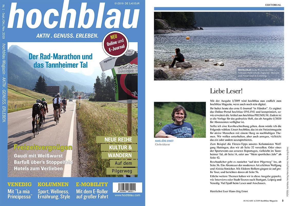 Der Artikel ist Bestandteil der hochblau Magazin Ausgabe 1/2019 vom 19.09.2019 - Auszug Seiten 26-31. Mehr zur Ausgabe ... | © hochblau Verlag Hans-Jörg Ernst