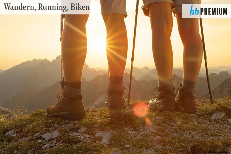 KOLUMNE So klappt's: Starke Beine und ein flacher Bauch. Wolfgang Hattingen gibt Tipps für die perfekte Vorbereitung auf Laufen, Wandern und Radfahrern ... (hochblau PREMIUM) | Foto: helivideo stock.adobe.com