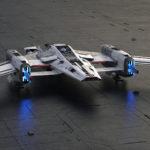 Porsche und Lucasfilm präsentieren Raumschiff-Design