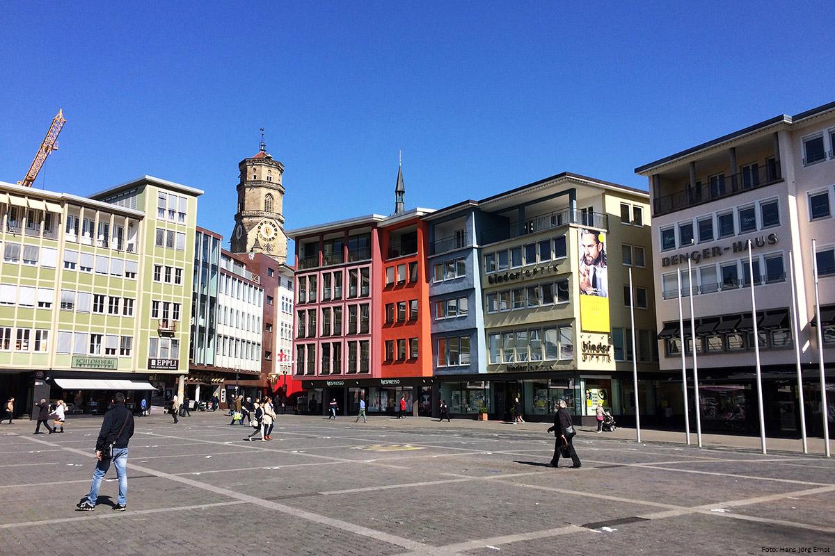 IN DER CITY Marktplatz mit Stiftskirche. | Foto: Hans-Jörg Ernst