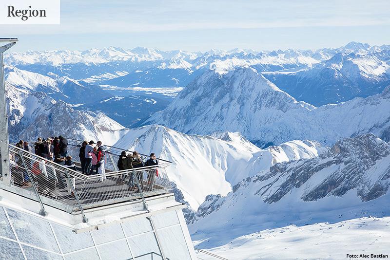 VORFREUDE Winter in den Bergen: Fotostrecke mit Bildern aus verschneiten Regionen. Mit dabei die Zugspitze, der Eibsee und Lermoos.