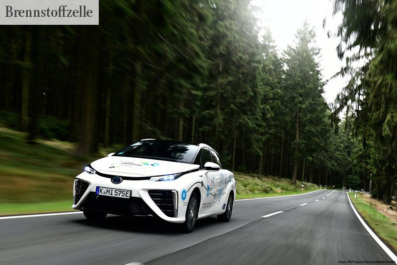 WASSERSTOFFTECHNOLOGIE Das Brennstoffzellenfahrzeug Toyota Mirai