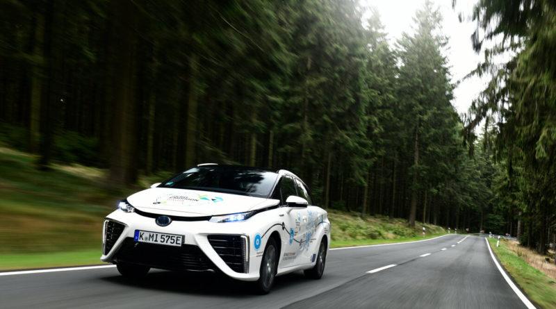Toyota Mirai unterwegs