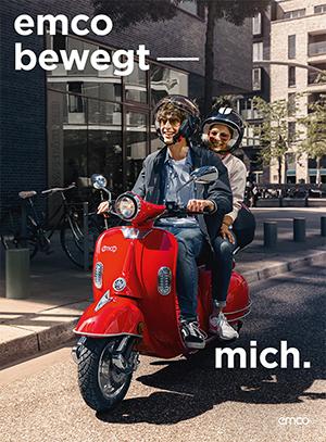ANZEIGE emco electroroller GmbH 49808 Lingen (Ems) - www.emco-e-scooter.com