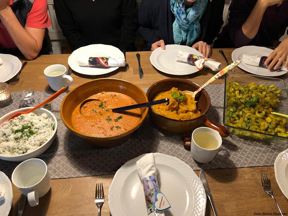 Die ayurvedische Küche ist sehr vielfältig und abwechslungsreich.