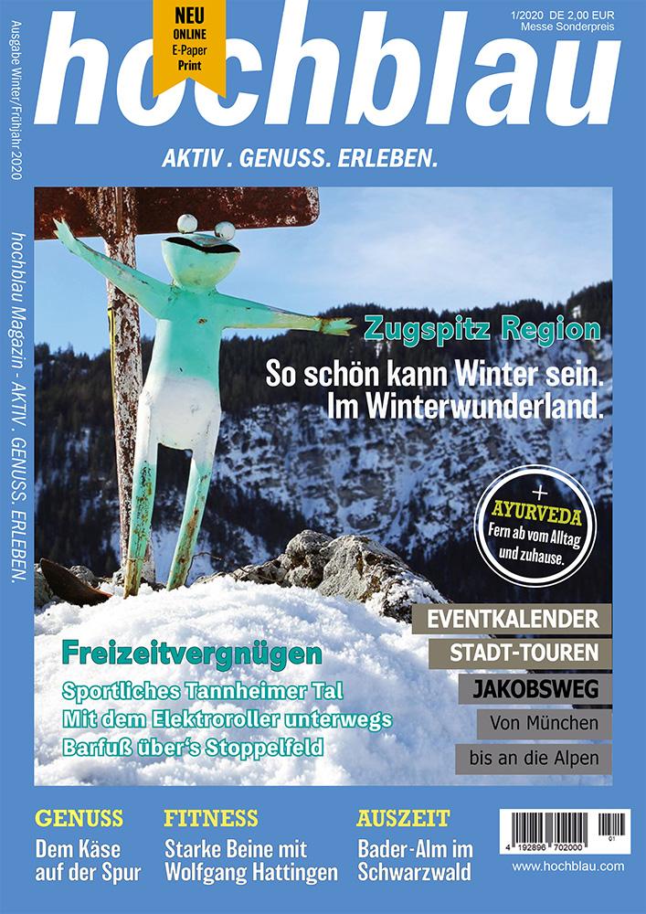hochblau Magazin 1/2020 Cover