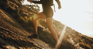 Mehr Fitness durch Bergsprints