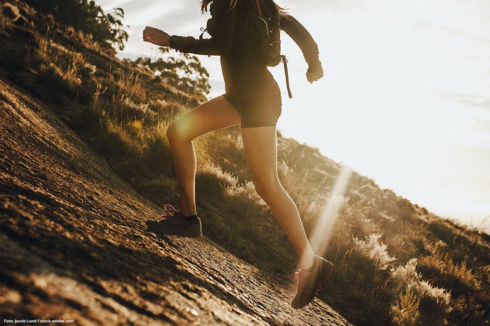 OUTDOOR-SPORT Steigere Deine Fitness durch Bergsprints.