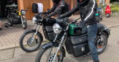 Elektromotorrad RGNT aus Schweden