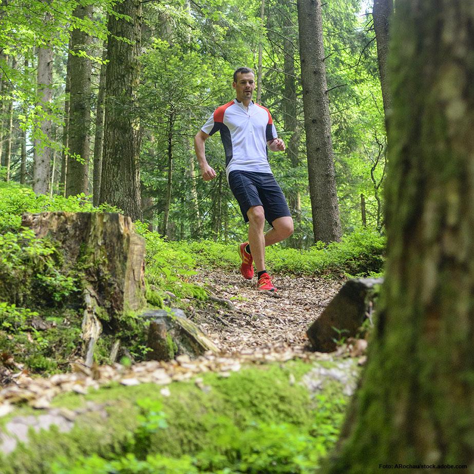 ACHTUNG! Nutzt Du für die Übungen einen steilen Hügel, solltest du abwärts nur gehen und nicht wieder hinunterjoggen, um Deine Knie nicht zu überlasten.