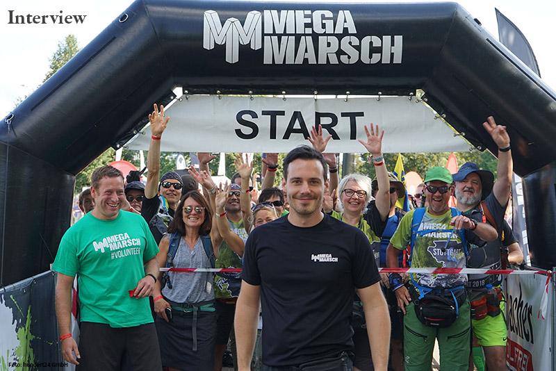 MEGAMARSCH MÜNCHEN Das Interview mit den Megamarsch-Machern
