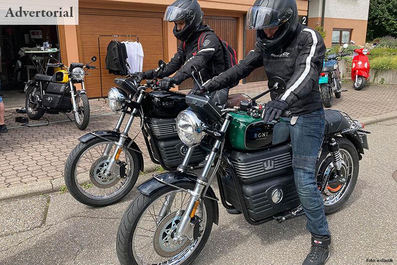 ADVERTORIAL Elektromotorrad aus Schweden zu Gast in Weil der Stadt