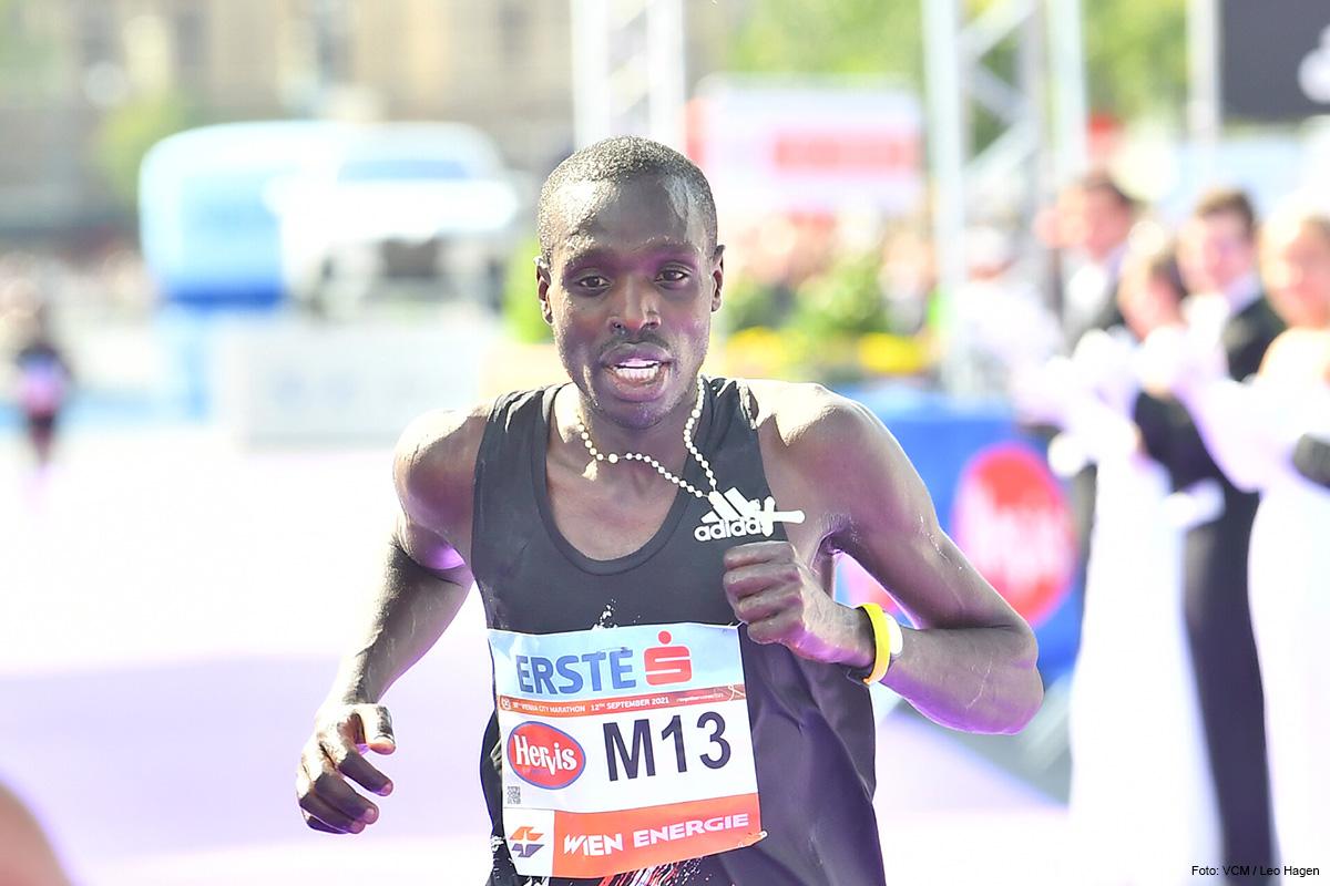 MARATHONSIEGER Leonard Langat macht die Distanz in 2:09:25 Stunden
